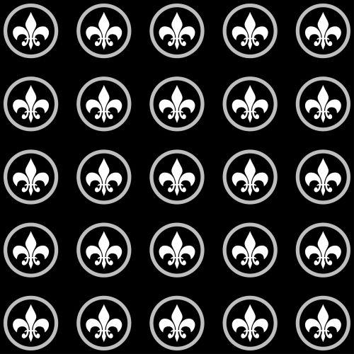 Fleur & nbsp, de & nbsp, lis, Fleur & nbsp, de & nbsp, lys, fleur-de-lis, fleur-de & nbsp, lys, tapetai, popierius, fonas, modelis, dizainas, juoda, balta, Scrapbooking, emblema, Prancūzų kalba, elementas, Laisvas, viešasis & nbsp, domenas, fleur de lis modelis tapetai