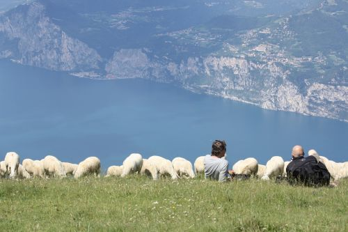 avių pulkas,monte baldo,garda