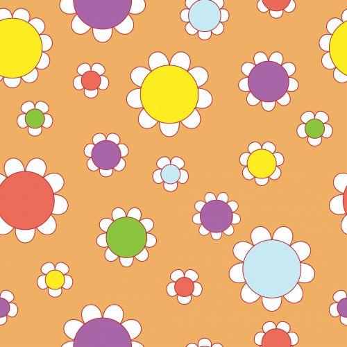 gėlių, tapetai, fonas, 60s, 1960-tieji metai, retro, gėlės, spalvinga, spalvinga, Scrapbooking, Laisvas, viešasis & nbsp, domenas, gėlių stilius retro 60s
