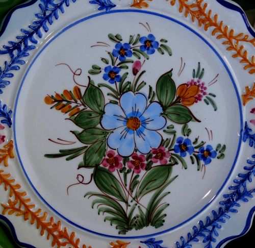 Senovinis, indai, virtuvė, virtuvės, plokštė, plokštės, gėlių, gėlė, gėlės, keramika, keramika, keramika, porcelianas, vintage, klasikinis, antikvariniai daiktai, senas, victorian, victoriana, gėlių plokštės dizainas