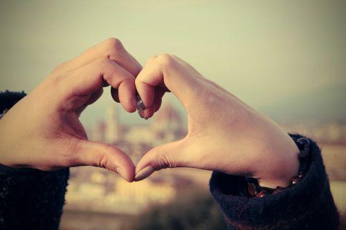 Florencija,hart,mėgėjai,ranka,medaus mėnuo,meilė,pora