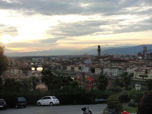 Florencija, italy, vaizdas, Florencija