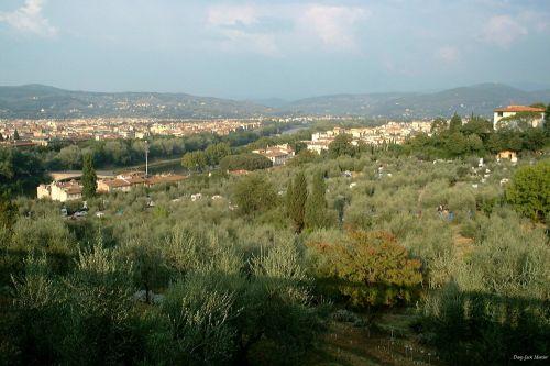 arno, Florencija, italy, paprastas, upė, Florencija 2000 5