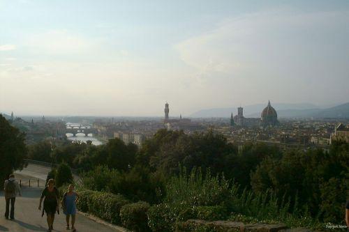 tiltas, italy, Florencija, paprastas, vakaras, katedra, upė, arno, Florencija 2000 6
