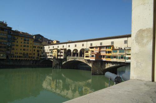 Florencija,tiltas,senas
