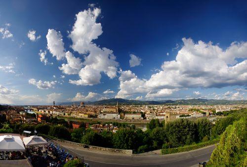 Florencija, italy, pano, panorama, Florencija