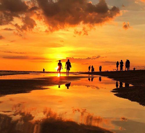 florida,jūra,afterglow