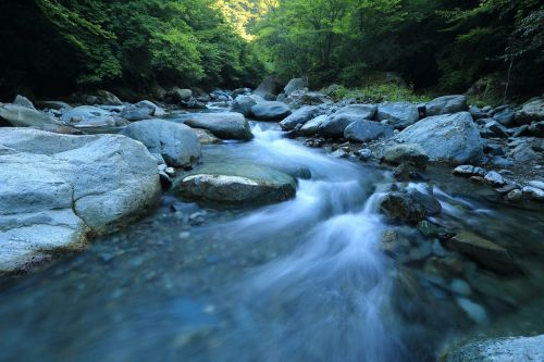 srautas, upė, srautas, vanduo, scena, upelis, akmenys, srautas, kraštovaizdis, lauke, laukiniai, dykuma