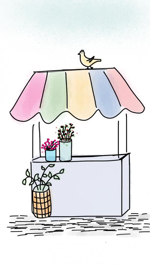 gėlių stendas,gėlių stendas,gėlės,stendas,stovėti,paukštis,balandis,gėlių vazonai,spalvinga,žiedas,stalas,šviežias,spalva,šviesus,natūralus,vazos,pavasaris,gamta,linksmas,žydėti,gėlių,žiedlapis,doodle,eskizas,piešimas,animacinis filmas