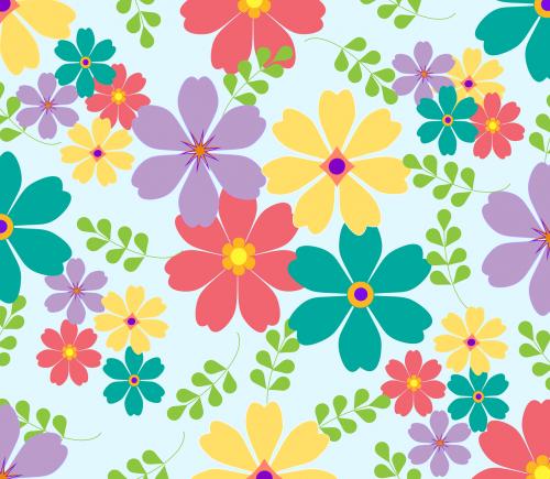 gėlės, lapai, žali lapai, geltonos gėlės, rožinės gėlės, levandų gėlės, mėlynos gėlės, pavasaris, lapai, gėlių, žalias, vasara, gamta, augalas, dizainas, žiedas, sodas, modelis, sezonas, romantiškas, šviežias, rožinis, puokštė, Vestuvės, nemokama vektorinė grafika, be honoraro mokesčio