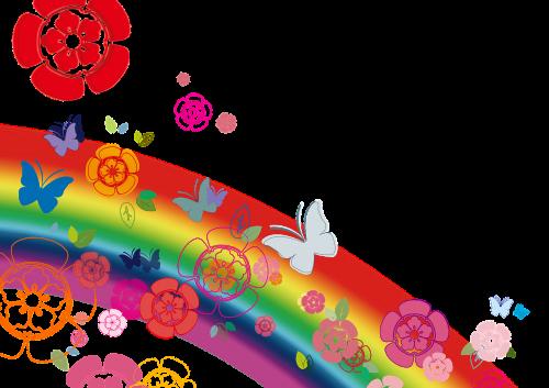 gėlės,drugelis,vaivorykštė,coleus forskohlii,繽 繽,mergaitės,fonas
