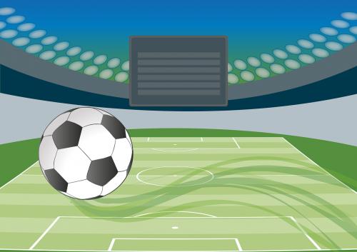 futbolas,stadionas,žaidimo laukai,Reklama,futbolo stadionas,Sportas,rutulys,potvynio šviesa,dangus,pradžia,nemokama vektorinė grafika