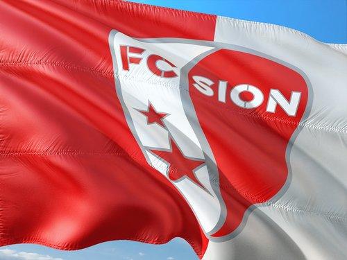 Futbolas, tarptautinis, Šveicarija, Raiffeisen Super League, vėliava, FC Sion