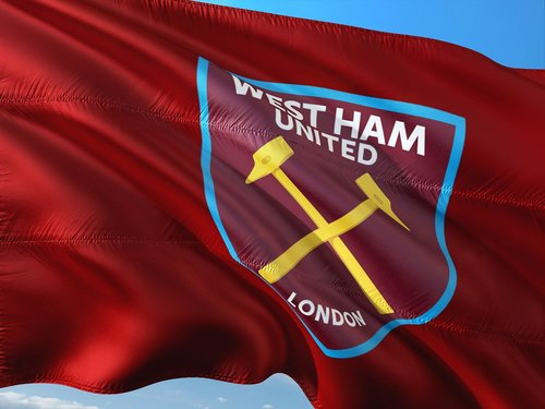 Futbolas, tarptautinis, Anglija, Premier lyga, vėliava, West Ham United