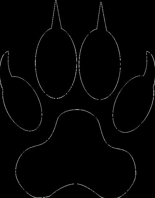 pėdos,vilkas,gyvūnas,pėdos,pėdos,medžioti,žingsniai,trasa,takelius,nemokama vektorinė grafika