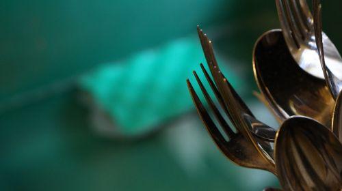 šakutės,sidabro dirbiniai,kempinė