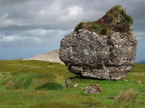 foundling,akmuo,Rokas,kraštovaizdis,atskirai,vienas,Airija