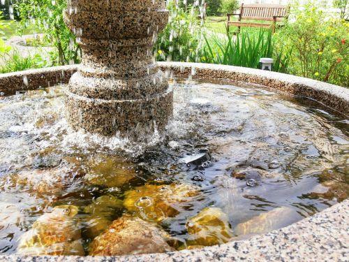 fontanas,vanduo,smūgis
