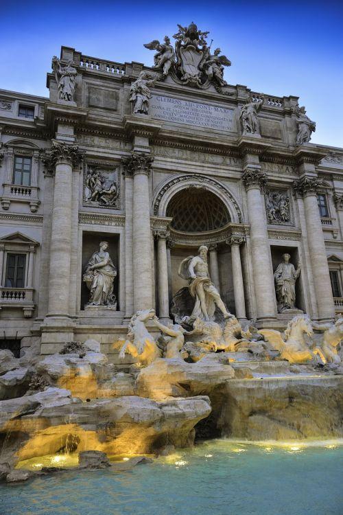 fontanas,di trevi,trevi,Roma,italy,kelionė,vanduo,skulptūra,paminklas,orientyras,senovės,statula,architektūra,ispanų,barokas,roma,di,turizmas,Europa,žinomas,akmuo,istorinis,fontana,fasadas,miestas,kultūra,istorinis,lauke,pastatas
