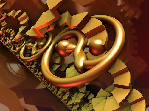 fraktalas,3d,mechanizmas,begalinis mechanizmas,inferno mechanizmas,steampunk,skaitmeninis,padengti,fantazija,scifi,gyvas