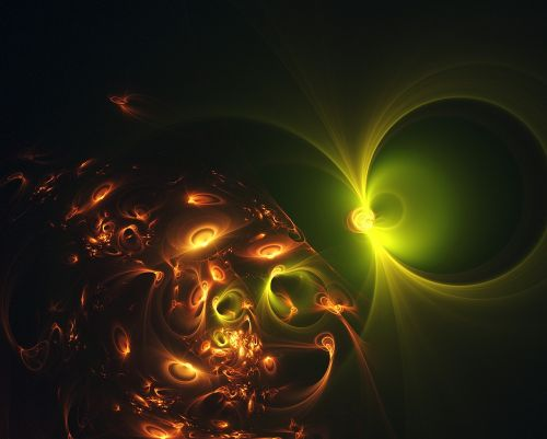fraktalas,šviesa,šviesos fraktalas,kosminis,žėrintis,energija,fantazija,scifi