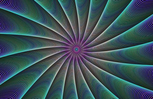 fraktalas, sukurtas kompiuteriu, skaitmeninis, fonas, abstraktus, meno, meno kūriniai, sūkurys, dėmesio, akis, sėkla, darbalaukio tapetai, spalva, spinduliai