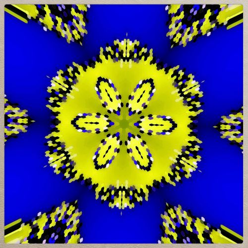 Astronija, Kaleidoskopas, ornamentas, simetrija, skaitmeninis, modelis, grafika, fraktalinis ornamentas