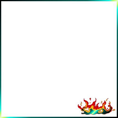 rėmas, paprastas, keista, neonas, psichodelinis, tekstūra, Ugnis, ženklas, kvadratas, rėmas kvailas neonas su ugnimi