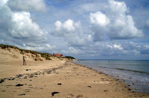 france, Normandija, Utah paplūdimys, dangus, debesys, papludimys, smėlio paplūdimys smėlis, jūros paplūdimys, vanduo, vandenynas