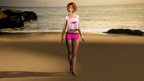 moteris, papludimys, atostogos, jūra, Paplūdimys & nbsp, vaikščioti, vanduo, atsipalaidavimas, smėlis, paplūdimys & nbsp, jūra, vandenynas, lieknas, kūnas, moteris paplūdimyje