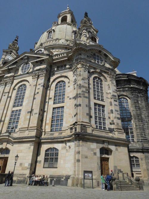 frauenkirche,Drezdenas,Saksonija