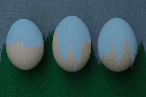 Velykos, Velykų & nbsp, kiaušiniai, meno, dažytos, kiaušiniai, artsy, linksma, mielas, dekoratyvinis, šventė, kopijuoti & nbsp, erdvę, pavasaris, Laisvas, viešasis & nbsp, domenas, dažyti, išsiliejo & nbsp, dažai, Grunge, ruda, mėlynas, šviežiai dažyti kiaušiniai