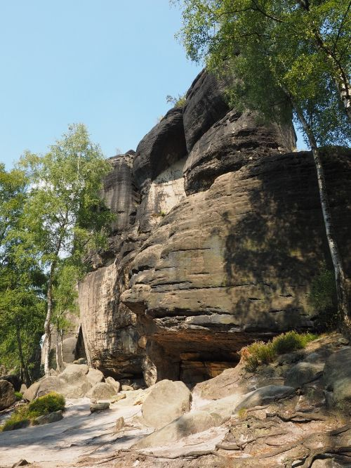 frienstein,elbe smiltainis,žygis,smiltainio uolienos,kraštovaizdis,akmens formavimas,žygiai,Rokas,Elbe smiltainio kalnai,smiltainio kalnas,tvirta pilis