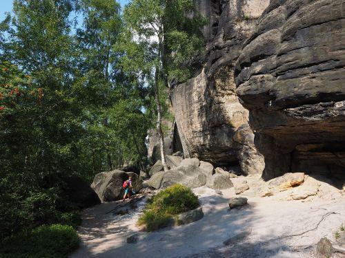 frienstein,elbe smiltainis,žygis,smiltainio uolienos,kraštovaizdis,akmens formavimas,žygiai,Rokas,Elbe smiltainio kalnai,smiltainio kalnas,Saksonijos šveicarija
