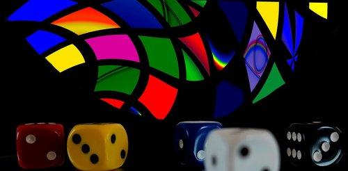 lošti, sėkmė, kubas, azartinių lošimų, laisvalaikis, žaisti, rizika, Craps, spalva, malonumas, Laisvalaikis, pramogų, priklausomybė, Taškai, akys, šešis kraštai