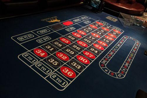 žaidimų stalas,ruletė,Las Vegasas