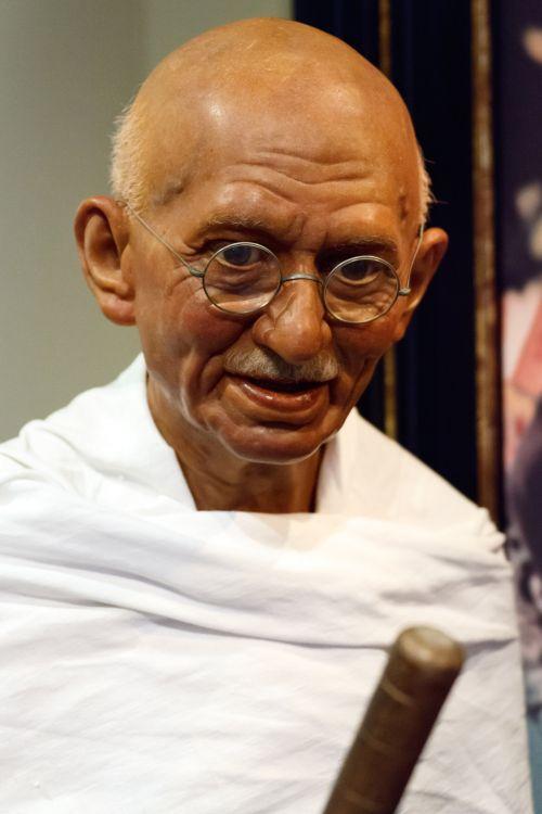 žinomas, gandhi, ghandi, vyriausybė, nepriklausomumas, Indija, Indijos, lyderis, mohandas & nbsp, karamčandas & nbsp, gandhi, vyras, senas, patriotas, taika, taikus, portretas, simbolis, vaškas, figūra, gandhi