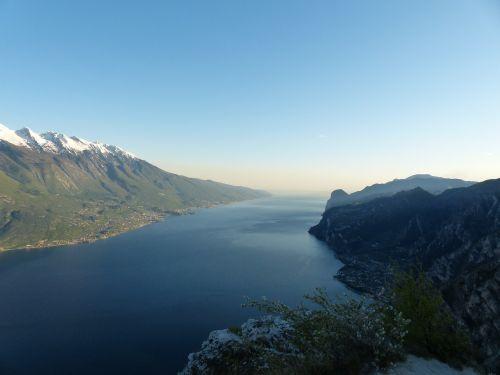 Garda, Ežeras, Monte Baldo, Monte Baldo Tvirtas, Kalnai, Monte Cas, Bocca Larici