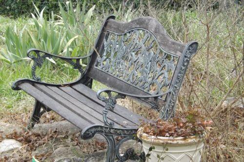 stendas, angelas & nbsp, dizainas, dekoruoti, baldai, kėdė, sodas, žiema, Kovas, texas, galinis kiemas, kiemas, graži, sodo suolas žiemą