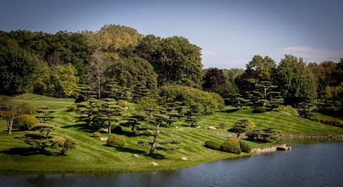 sodai,japonų sodai,zen,botanikos,ežeras,ramus