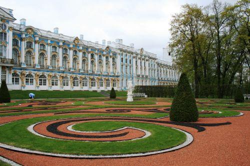 sodai, veja, žalias, žvyras, raudona, balta, juoda, demarkacinis, tvarkingas, formalus, sodai prie tsarskoe selo