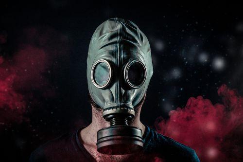 dujos,kaukė,toksiškas,cheminis,veidas,karas,pavojus,apsauginis,industrija,pavojus,branduolinė,filtras,radiacija,pramoninis,juoda,vyras
