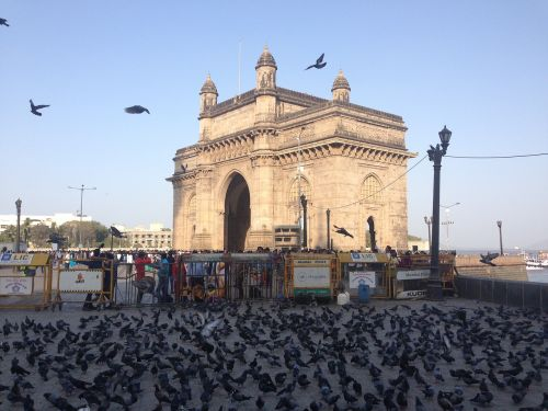Indijos vartai,Mumbajus,kolaba