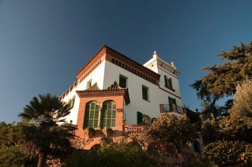 gaudi,namas,saulėtas,Ispanija