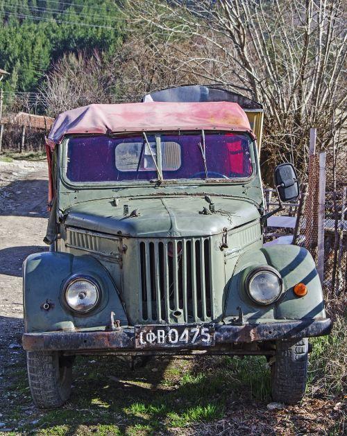 gaz 69, rusų, Jeep, 4x4, off road, gabenimas, vintage, Bulgarija, suv, transporto priemonė, transportas, off-road, nuotykis, visas reljefas, pavasaris, komunistas, be honoraro mokesčio