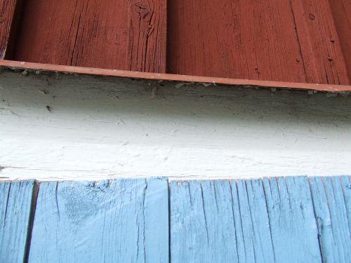 mediena, raudona, balta, mėlynas, olandų & nbsp, vėliava, fonas, spalvota mediena