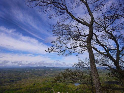 Gruzija,kalnai,medžiai,Šiaurės Gruzija,kraštovaizdis,gamta,kelionė,dangus,piko,Rokas,aukštas,turizmas,žygiai,kalnas,ekstremalios,debesis,viršuje,veikla,mėlynas dangus