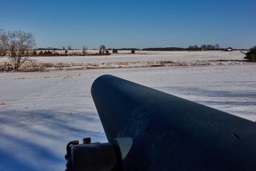 Gettysburg, mūšio laukas, mūšis, laukas, pa, pennsylvania, civilinis, karas, vieningos & nbsp, valstijos, patranka, senas, istorinis, vintage, raudona, tvartas, Gatitsbergo mūšio laukas