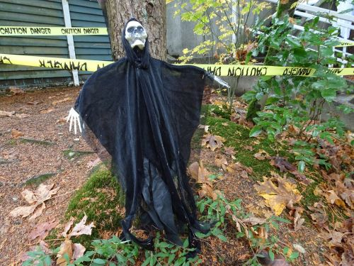 vaiduoklis, juoda, Halloween, Iš arti, parkas, baugus, šventė, ne & nbsp, perėjimas, juosta, linija, vaiduoklis parke