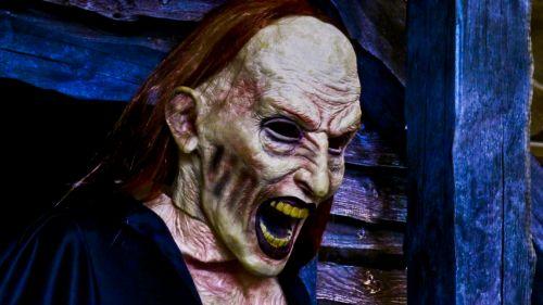 vampyras, Halloween, moteris, šaukti, Burna, negraži, dantys, raudona, mėlynas, dekoruoti, apdaila, baugus, vampyras šypsoja